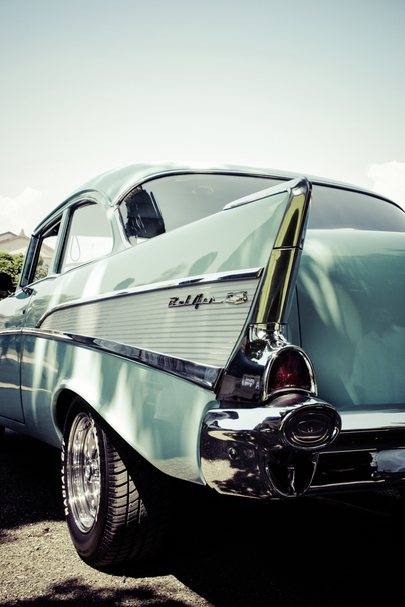 1957er chevy bel air oldtimer