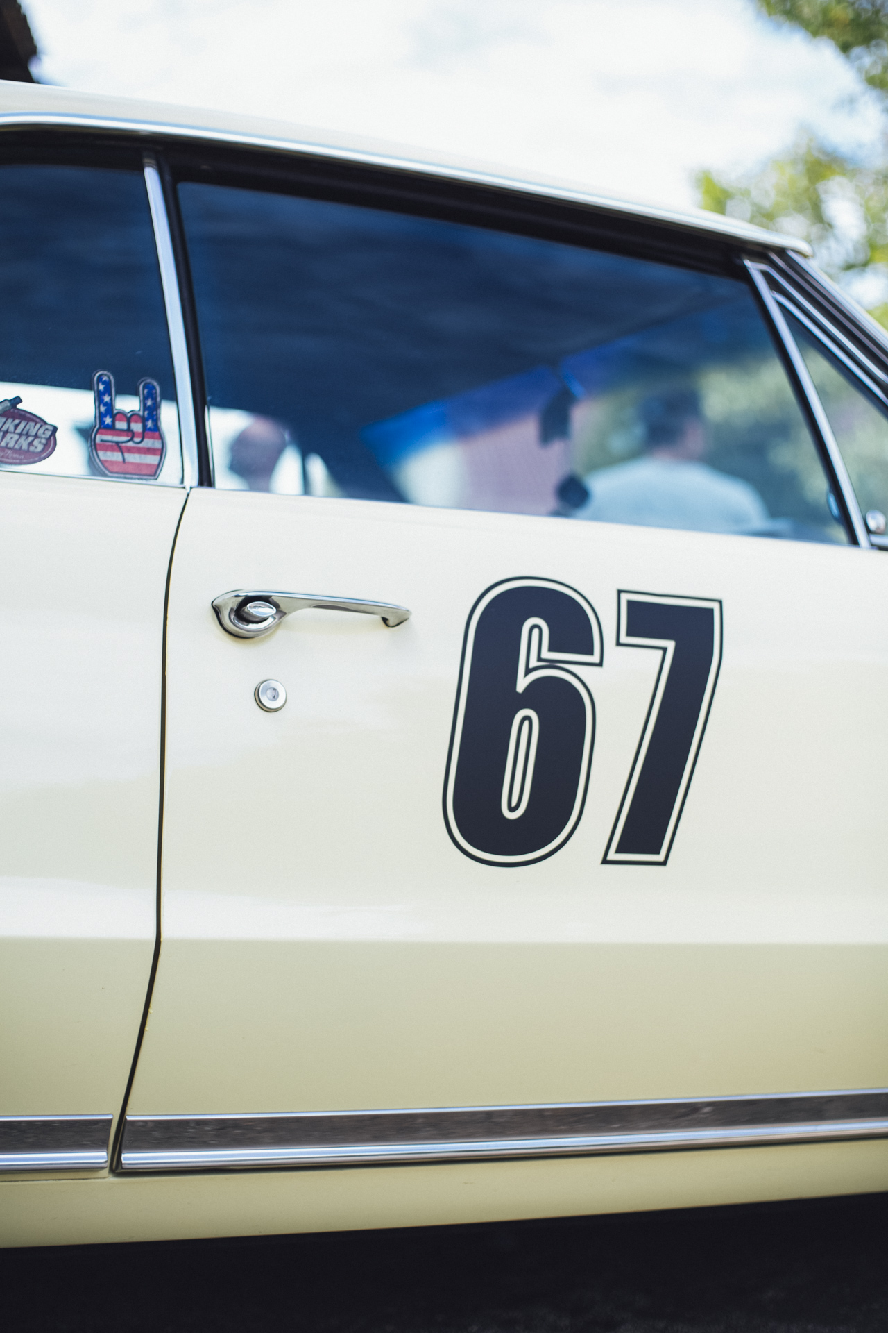 US Muscle Car Classic Oldtimer