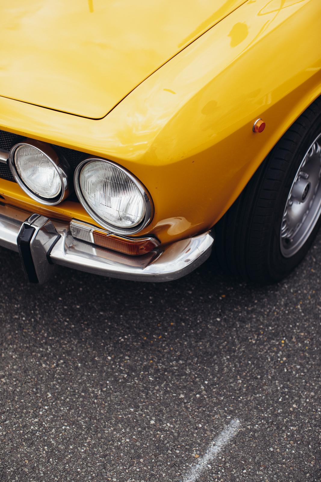 Italian Alfa Romeo Giulia GT (1969)