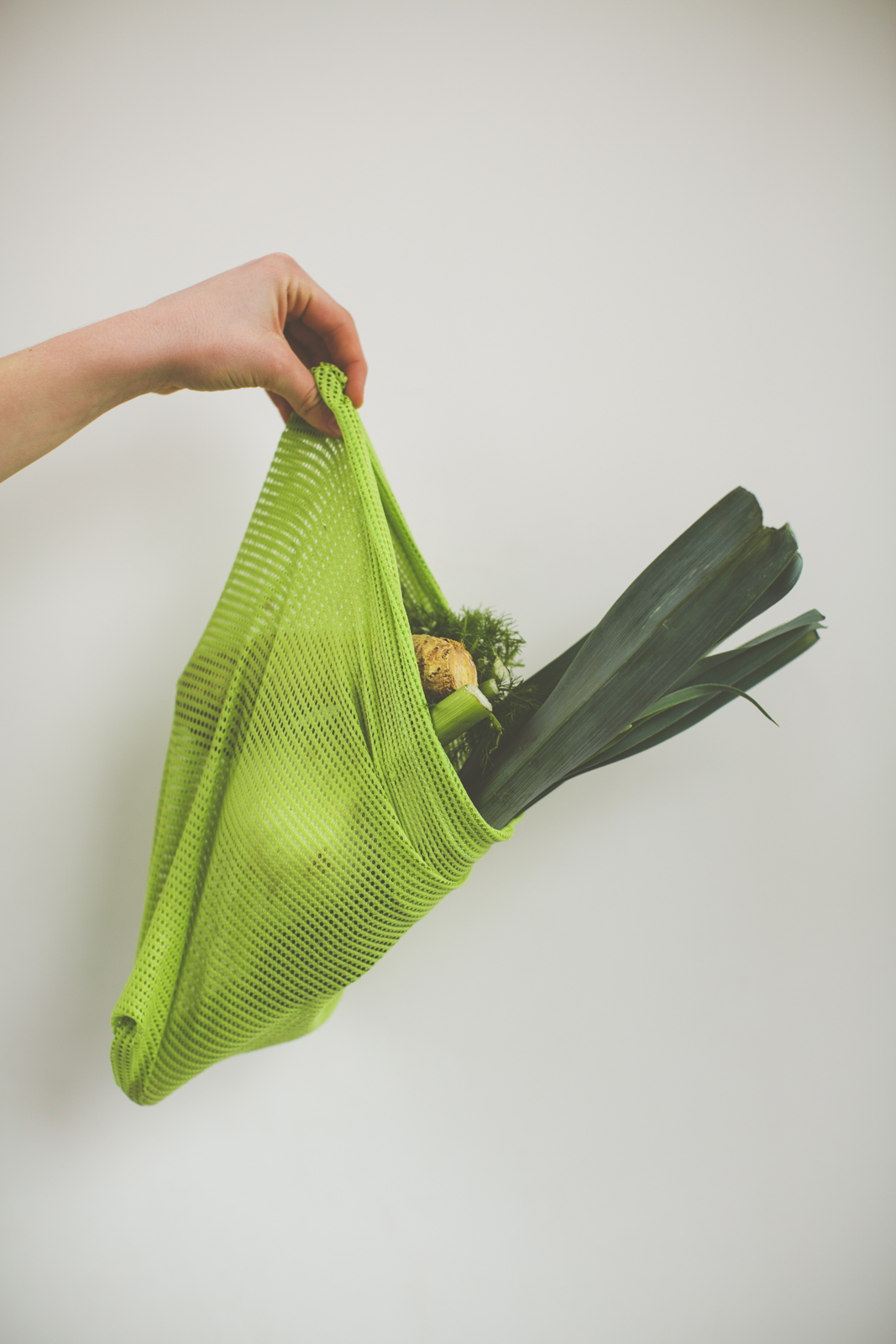 fresh bio vegetable cotton mesh bag