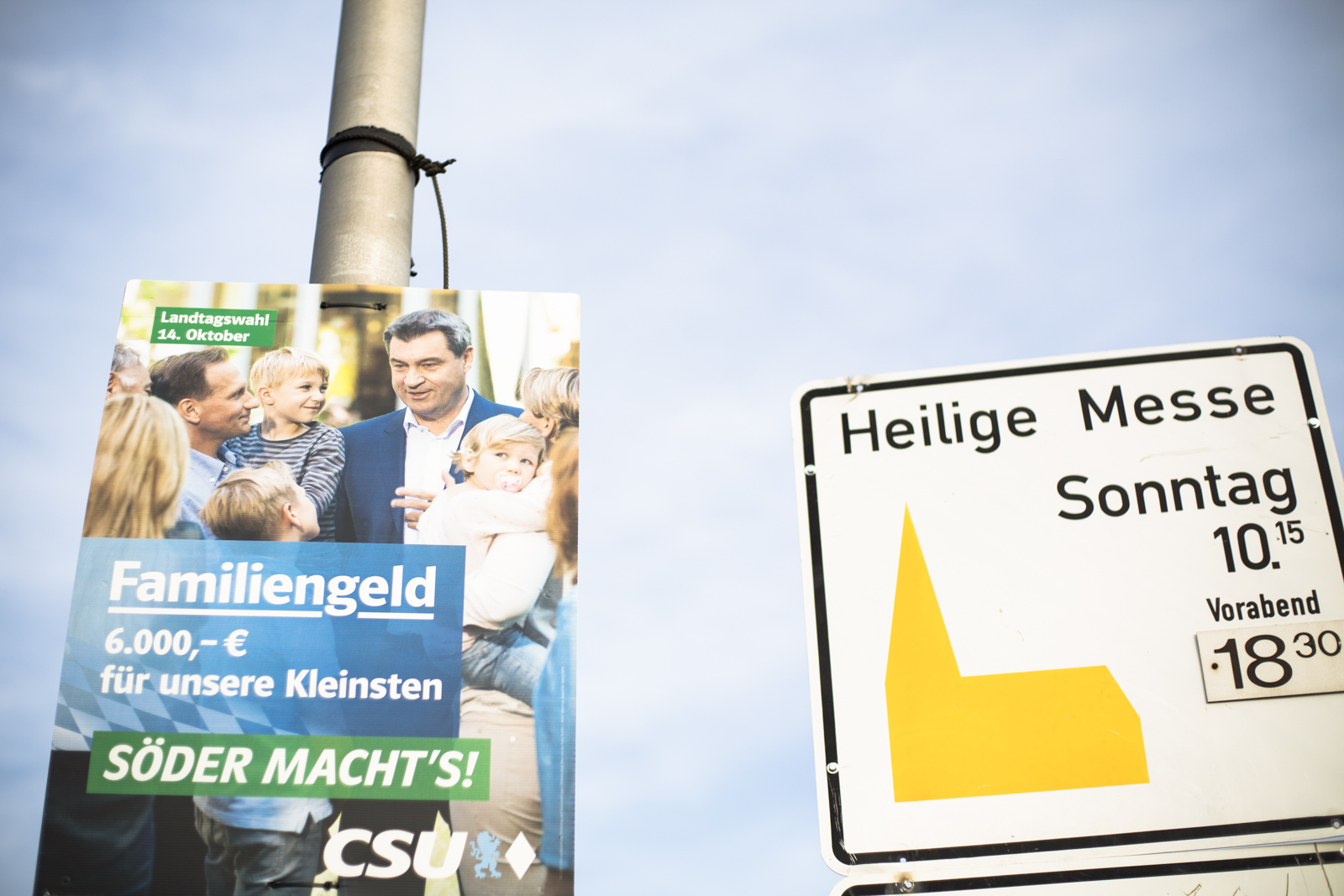 CSU Markus Söder – Landtagswahl Bayern 2018