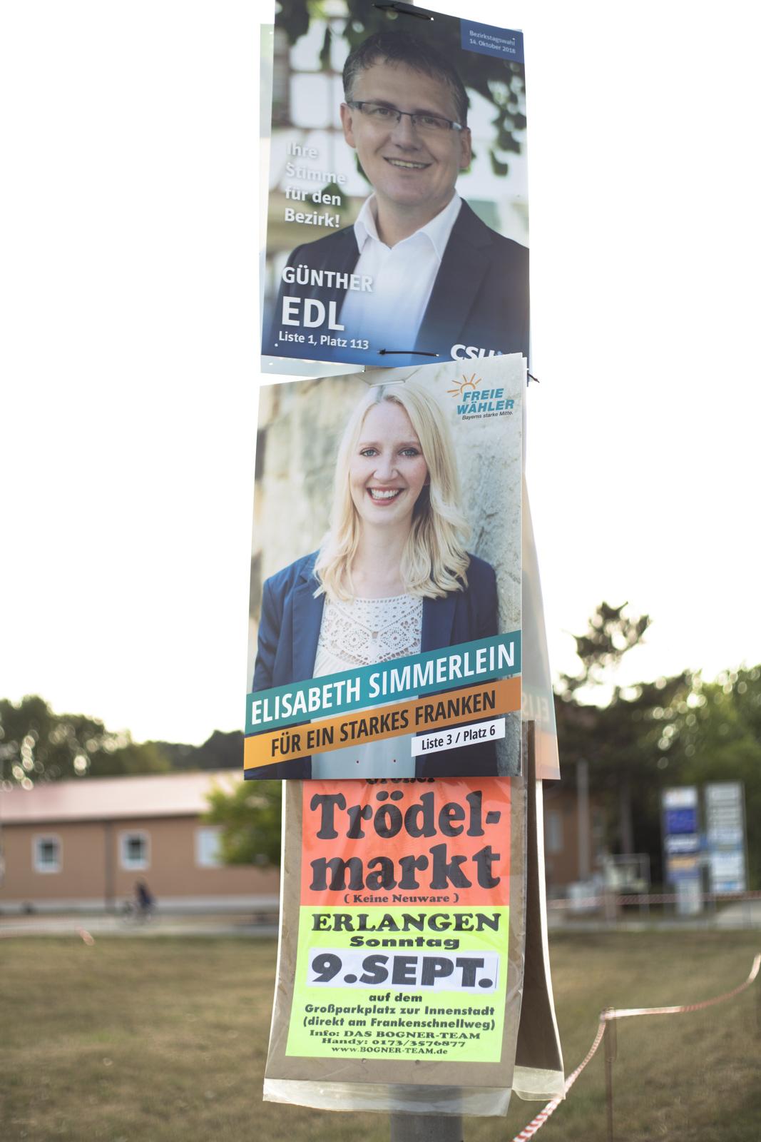 CSU Günther Edl, Freie Wähler Elisabeth Simmerlein – Landtag