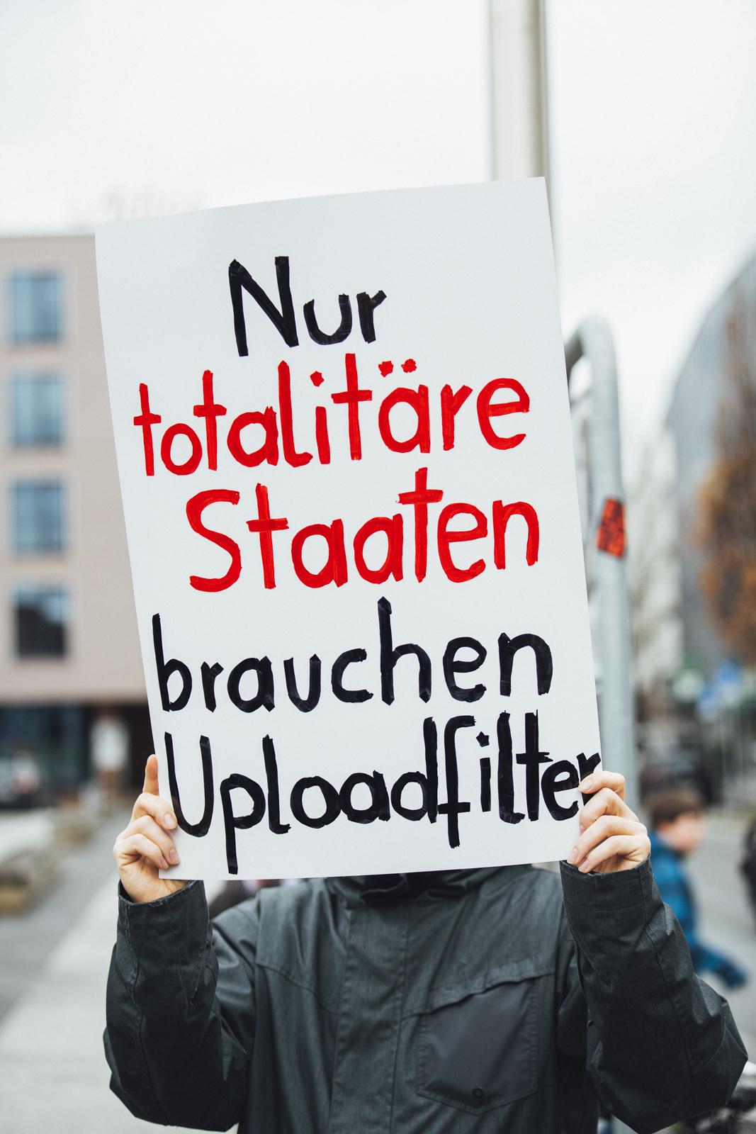 Save Your Internet – Demo against Uploadfilter – Article 13