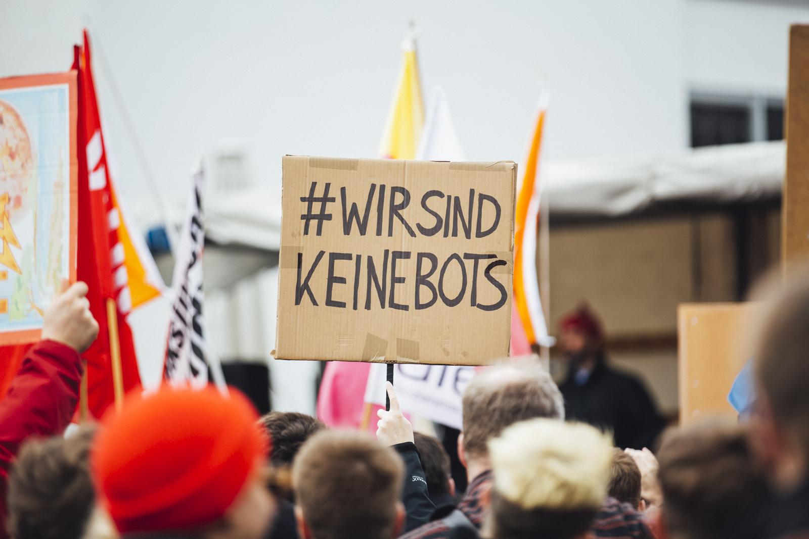 Save Your Internet – Demo gegen Uploadfilter – Article 13 #C